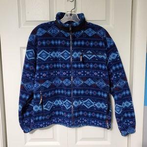 Polartec Full-Zip Fleece Sweater Jacket